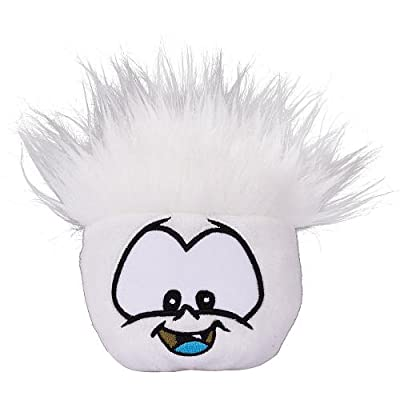 Disney Club Penguin 4 Inch Series 3 Plush Puffle White [Includes Coin with Code!]: Toys & Games