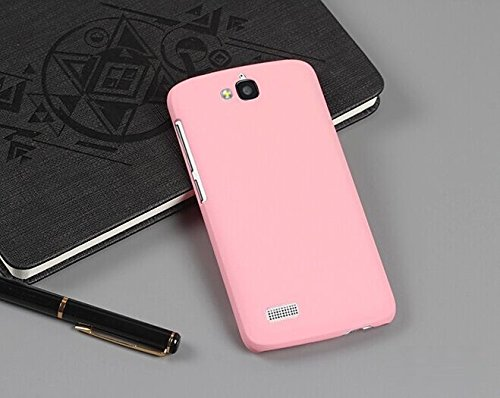 low priced 179ec 86af4 WOW Imagine Rubberised Matte Hard Case Back Cover For Huawei Honor Holly  (Baby Pink)