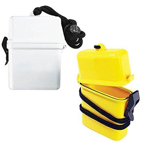 Waterproof Container Airtight Case Id Holder Plastic Box Keys Money Beach New