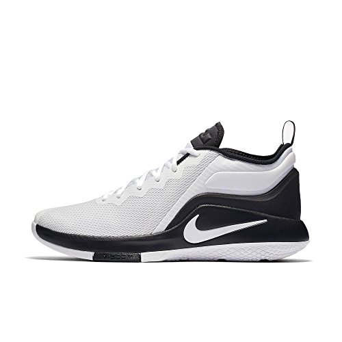 De Zapatillas Fitness Blanc Black noir Mixte Nike Lebron Witness Adulte White Chaussures Ii fgqf0RFdw