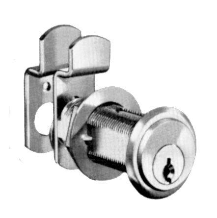 National Lock N8102 26D 915 1-.06 In. Cylinder Key 915 Pin Tumbler Locks - Dull Chrome