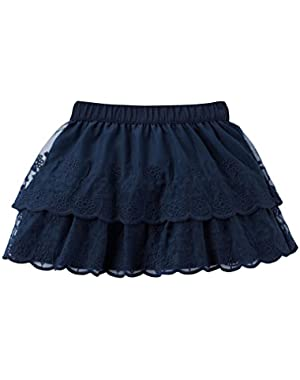 Carters Baby Girls Double-Layer Tulle Skirt Navy 6M