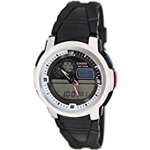 Casio #AQF102W-7BV Men's Analog Digital Thermometer Tide Graph Watch
