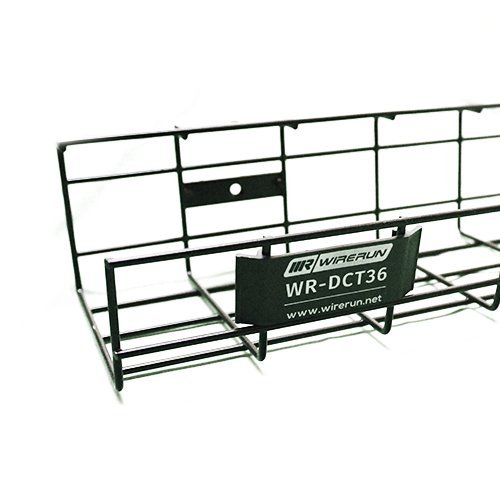 Desk Cable Organizer Tray 36'' by WireRun