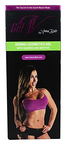 Stretch Marks - Vanna Belt Gel-V - Formulated to Fade Stretch Marks - Made to Tighten Sagging Skin - Perfect for Areas That Diet and Exercise Miss (Stomachs, Thighs, Hips, etc.)