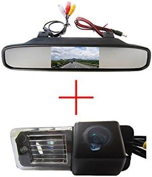 fuway CCD color coche reverso de visión trasera Aparcamiento Back ...