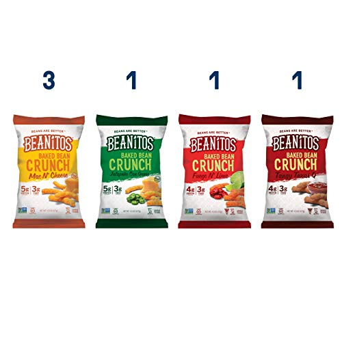 Beanitos Baked Crunch Variety Pack
