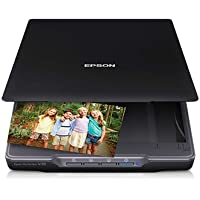 Epson Perfection V39 Color Photo Flatbed Scanner, 8.5 x 11.7 Scan Area, 4800dpi Optical Resolution - Refurbished by Epson