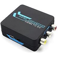 Cater HDMI to AV/CVBS/3RCA Composite Converter Scaler 1080P