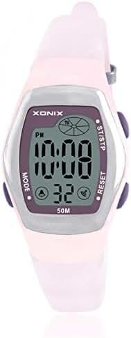 RetroLEDDigital multi-function watch/Waterproof swim girls digital watch-A