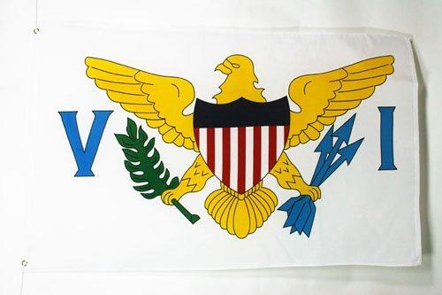 AZ FLAG Virgin Islands of The United States Flag 3' x 5' - Virgin Islander Flags 90 x 150 cm - Banner 3x5 ft