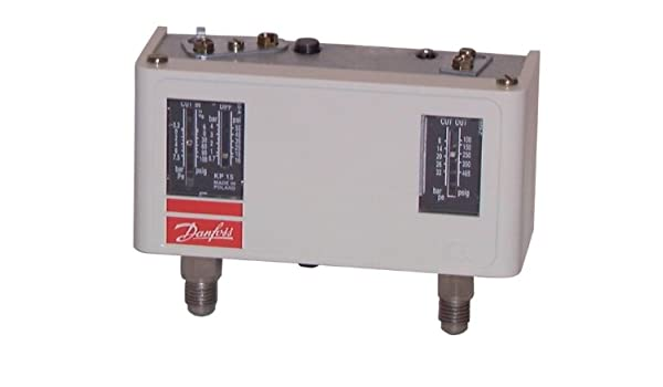 Danfoss-Presostato para KP réfrigerant HP 15/BP-60-124166: Amazon ...