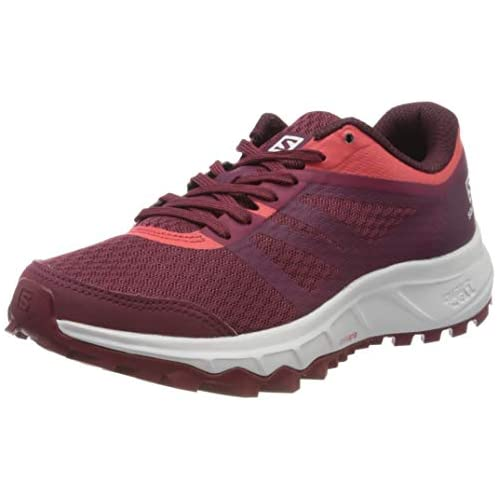 chollos oferta descuentos barato Salomon TRAILSTER 2 W Zapatillas de Running para Asfalto para Mujer Rojo Rhododendron Red Bud Cayenne 38 EU