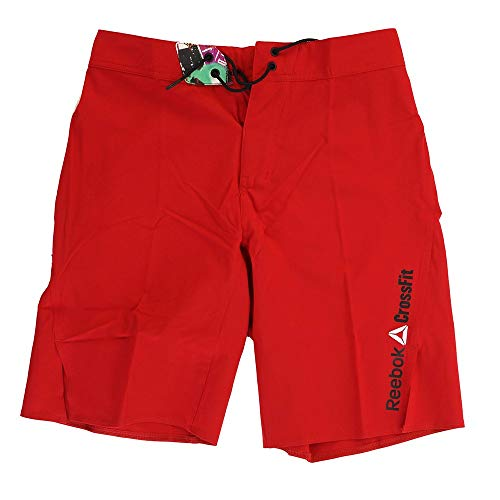 Reebok Men's Crossfit Bonded Gusset Core ii Training (Red) Shorts (31)