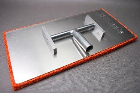 Egalisette - alu-articulación-flotador con brazo articulado - esponja de goma-colchón - 400 x 200 x 20 mm: Amazon.es: Bricolaje y herramientas