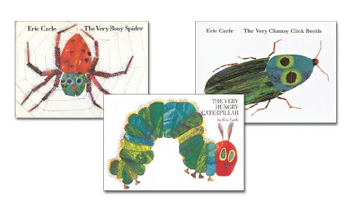 The Very Busy Spider / The Very Clumsy Click Beetle / The Very Hungry Caterpillar