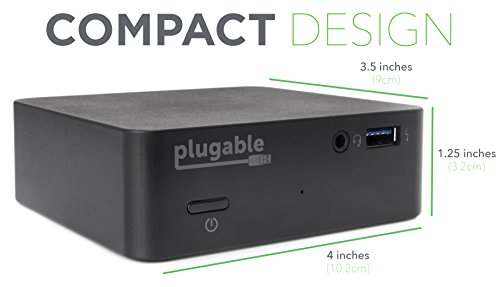 Plugable USB-C Mini Docking Station with 85W Charging for Thunderbolt 3 and USB-C MacBooks and Select Windows Systems (HDMI up to 4K@30Hz, Gigabit Ethernet, 4x USB 3.0 Ports, USB Power Delivery) by Plugable (Image #4)