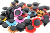 Lot of 100 Pcs Different Random Shoe Charms for Croc Shoes & Jibbitz Bands Bracelet Wristband