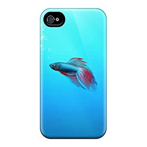 VAX40539FlDV Luoxunmobile333 Defender Hard For Case HTC One M8 Cover - Betta Fish
