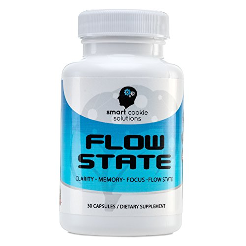 Flow State - Brain Support Supplement for Memory, Focus, Clarity and Flow State by Smart Cookie Solutions