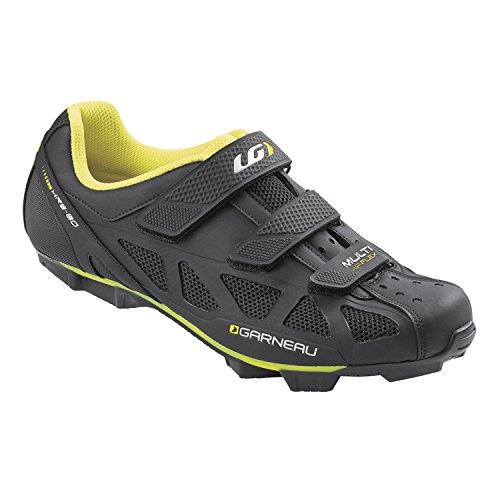 Louis Garneau Men's Multi Air Flex Bike Shoes for Commuting, MTB and Indoor Cycling, Compatible with MTB and SPD Pedals