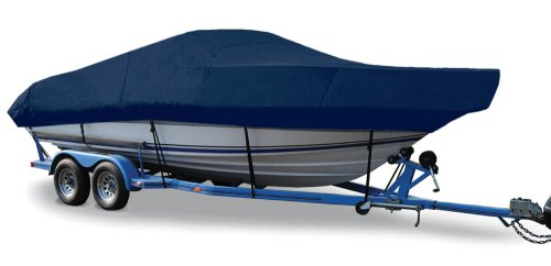 (Taylor Made Products Trailerite Semi-Custom Boat Cover for Walk-Around Cuddy Cabin Boats with Inboard/Outboard Motor (23'5