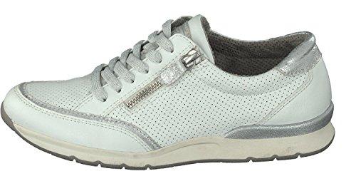 2 EN Zapatos Blanco 13 16804 Colores Bajos Cordones 8067 Mujer Relife TwE0q8x