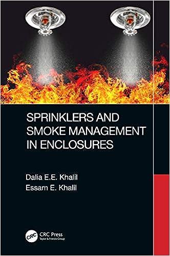 Sprinklers And Smoke Management In Enclosures Khalil Dalia E E Khalil Essam E 9780367860684 Amazon Com Books