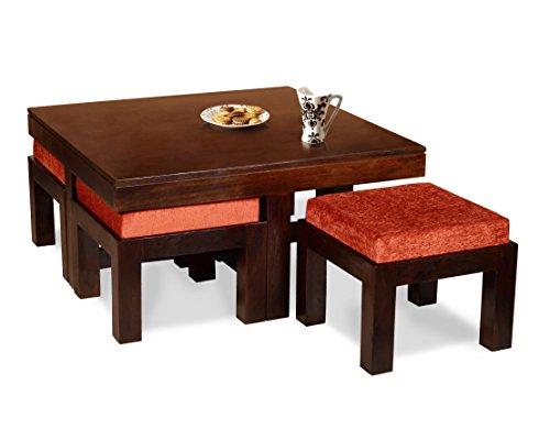 Madera Solid Wood Coffee Table (Walnut)