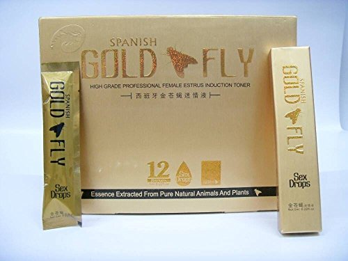 (Spanish Gold Fly/6 Tubes Male/Female Sexual Enhancer PLUS LOVE POTION PEN)