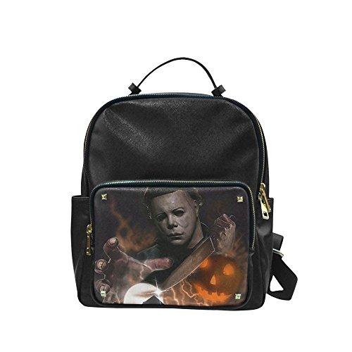 [Navarro Halloween October 31 Jack O Lantern Unisex Leisure Backpack School Leisure Shoulder Bag] (Lock Shock And Barrel Costumes From Nightmare Before Christmas)
