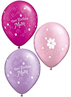 balloons by post happy birthday mom mum balloon in a gift box