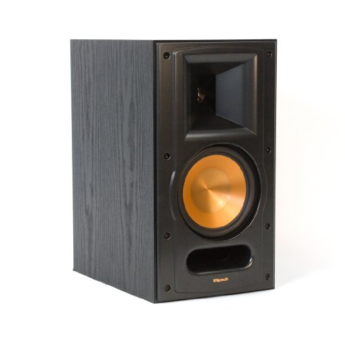 Loaded Speaker Cabinet - Klipsch RB-61 II Reference Series Bookshelf Loudspeakers, Black (Pair)