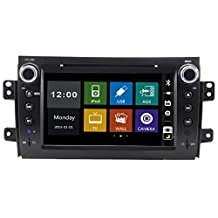"""8"""" in-dash Car DVD player with BT/TV,USB/SD,AUX,Steering Wheel Control,Support rear view camera,audio Radio stereo,car multimedia headunit for SUZUKI SX4 2006 2007 2008 2009 2010 2011 2012"""