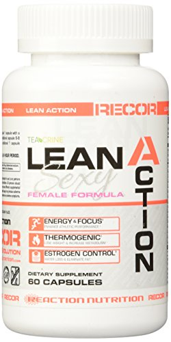 Reaction Nutrition Recor Lean Action Sexy Female Formula, 60 Count