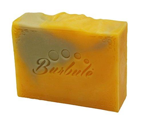 Qualitäts Handgemachte Naturseife RASUR Hergestellt Aus Pflanzenölen für Perfekte Rasur Shaum 100 g
