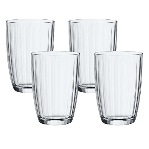 Artesano Original Glass Small Tumbler Set of 4 by Villeroy & Boch - Premium Crystal Glass - Made in Germany - Dishwasher Safe - 14.5 Ounce Capacity - 4 Inches