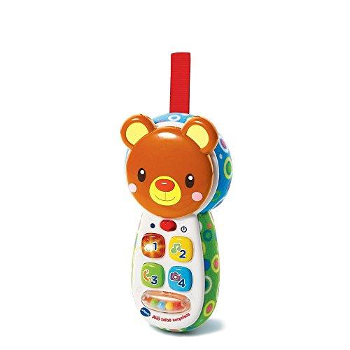 VTech : Peek-a-Bear Baby Phone (French Toy) -  502705