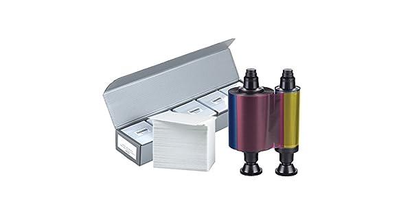 Amazon.com: Evolis R3011 YMCKO – Cinta de color + 500 ...