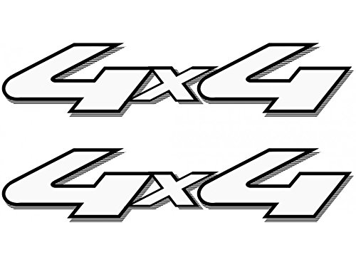 4x4 Off Road Decals (Black) - 2001 to 2008 Ford Style