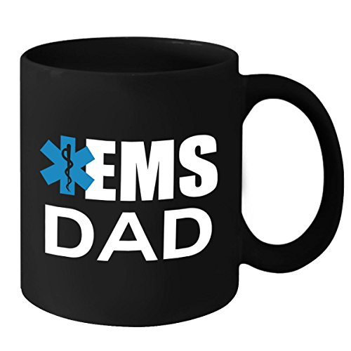 [EMS Coffee Mug - EMS Dad Coffee Cup - Fathers Day, Birthday & Christmas Gift Idea for Men, Dad, Son, Grandpa, Boyfriend & Husband] (Fangirl Costume Ideas)