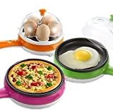 Unique Gadget 2 In 1 Multifuctional Steaming Device Frying Egg Boiling Roasting Heating