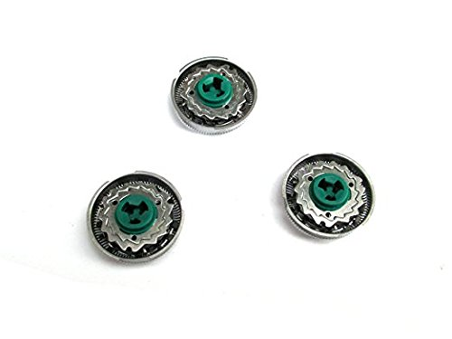 Set of 3 Replacement Shaver Heads for Replacing Philips Norelco SH90 S8860/80/RQ10 RQ12 Series