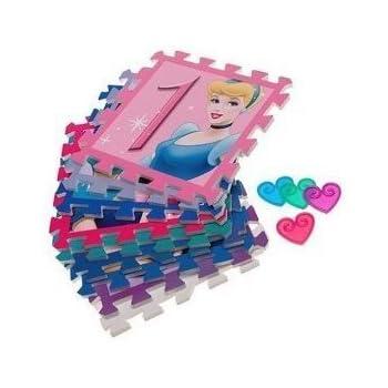 Amazon Com Disney Princess Soft Foam Hopscotch Play Mat
