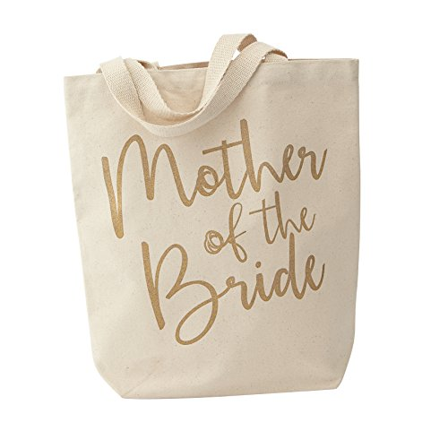 Mud Pie Canvas Mother of The Bride Tote Bag, Her Mom
