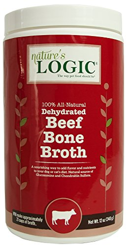 Nature's Logic Dehydrated Beef Bone Broth, 12oz (Dehydrated Bone Broth)