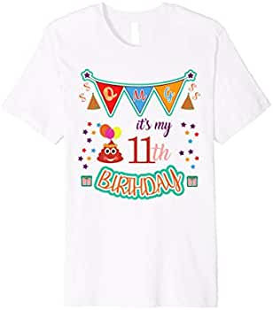 Amazon.com: It 's My Cumpleaños 11th – Caca Emojis 11 ...