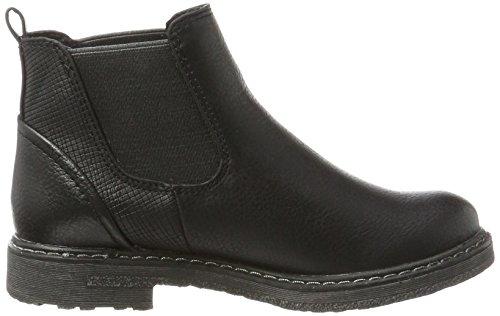 Marco Tozzi Mädchen 46410 Chelsea Boots Schwarz (Black Ant.Comb)