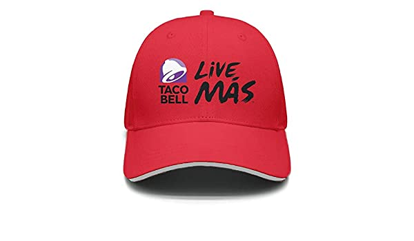 ec02ab122084b iorty rtty Caps Adjustable Unisex Taco-Bell-Live-MAS- Vintage Trucker Hat  at Amazon Men s Clothing store