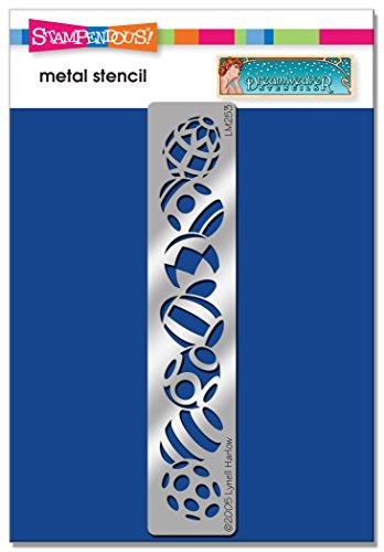 Price comparison product image Stampendous DWLM253 Easter Egg Border Dreamweaver Stencil
